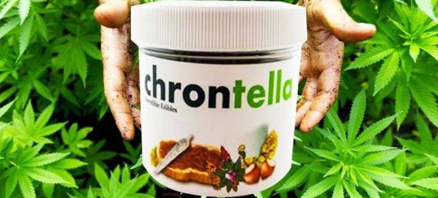 Chrontella, the new Nutella marijuana