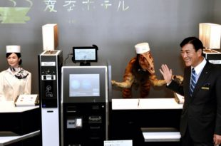 New amazing Hotel in Japan run by robots, guests will like it?