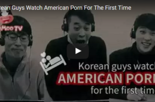When a Korean sees for the first time a porn movie