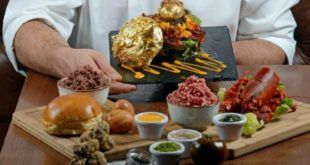 The most expensive burger in the world is in London for only 1400 pound